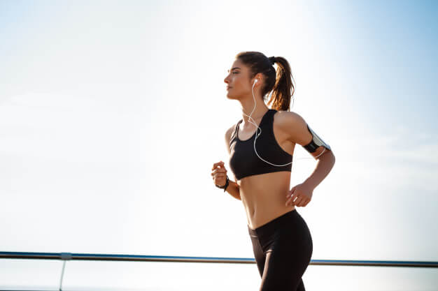 young attractive fitness girl jogging 176420 824